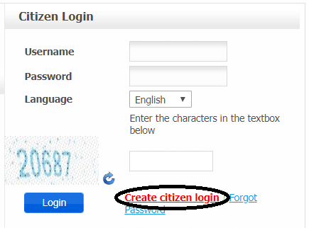 Haryana Police Harsamay Portal Citizen Login