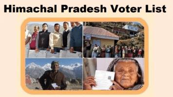 Himachal Pradesh CEO Voter List