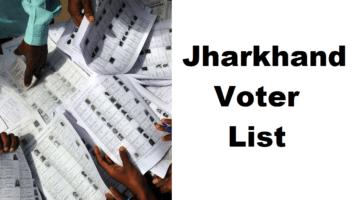 Jharkhand Voter List PDF ID Card Download