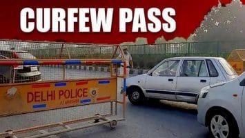 COVID 19 Delhi Curfew Pass Registration