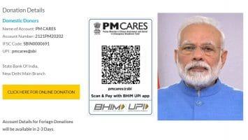 PM CARES Fund Donation Coronavirus