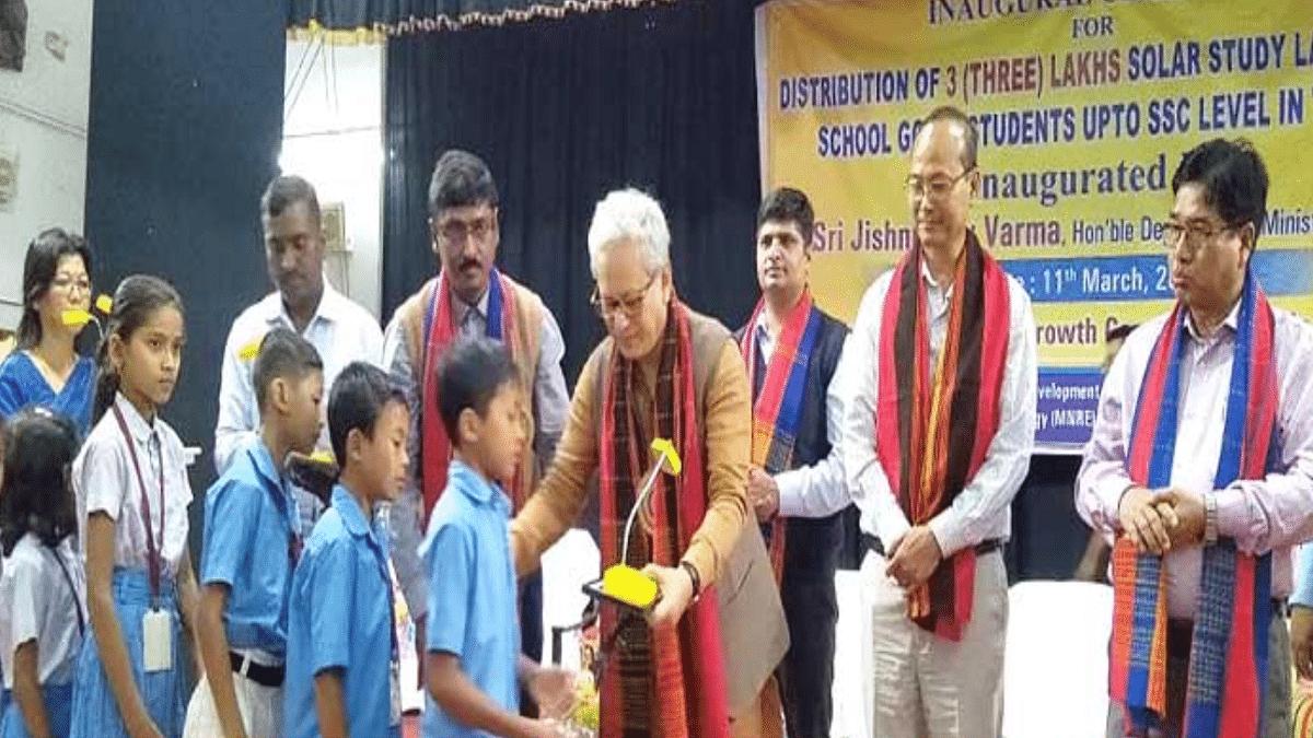 Tripura Solar Study Lamp SSL Scheme