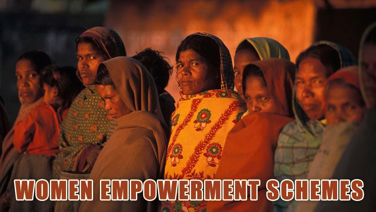 Women Empowerment Schemes in India