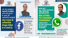 MP Coronavirus Covid-19 Whatsapp Facebook