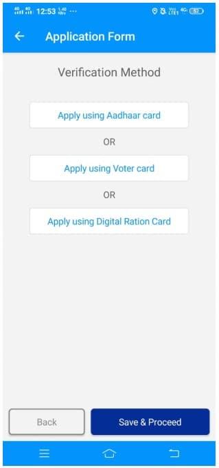 WB Sneher Paras App Apply Aadhaar Voter Digital Ration Card