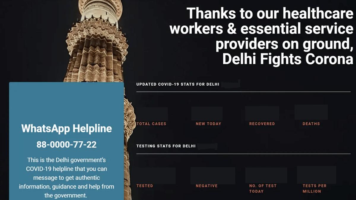 Delhifightscorona In Delhi Fights Corona Portal