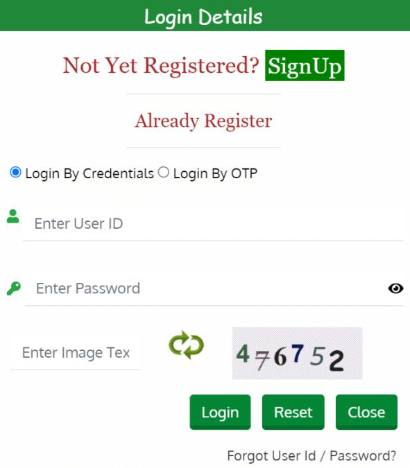 Login eudyan HP Gov Portal