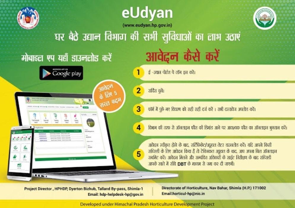 eUdyan HP Portal Apply Online