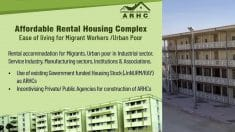 [Apply Online] Affordable Rental Housing Complex (ARHC) Scheme 2020-2021 Application / Registration Form at arhc.mohua.gov.in