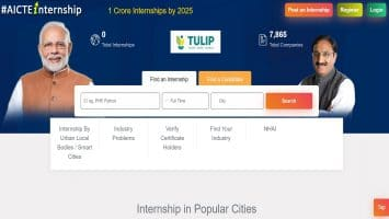 AICTE TULIP Internship Apply Online