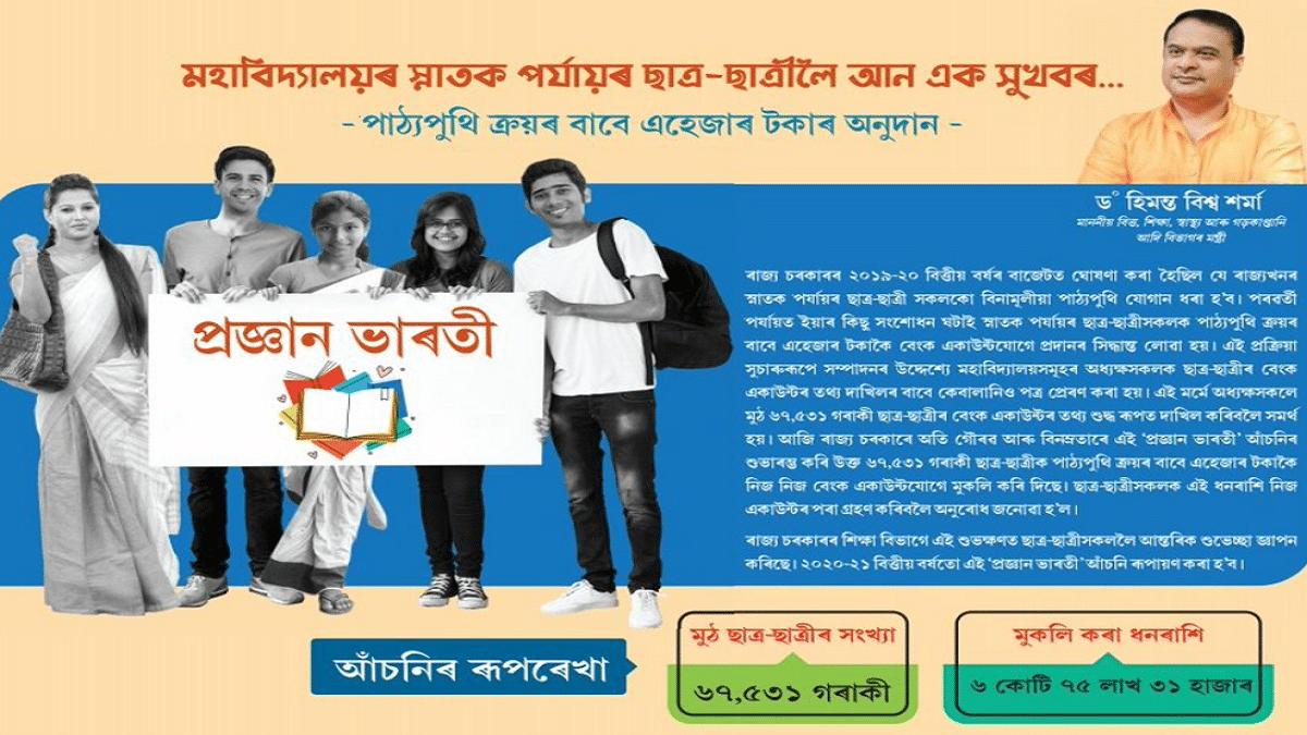 Assam Pragyan Bharti Scheme