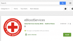 eBloodServices Mobile App Download Android