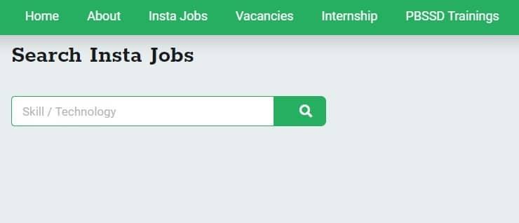 Karma Bhumi NLTR Portal Find Job Page