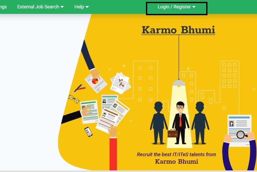 Karmo Bhumi Prakalpa Portal Registration Login