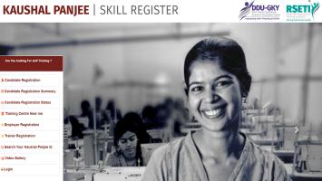 Kaushal Panjee Skill Register DDUGKY RSETI