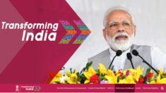 Narendra Modi Govt Schemes Progress in Numbers at transformingindia.mygov.in