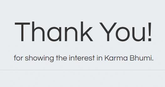 Thanks Interest West Bengal Karma Bhumi