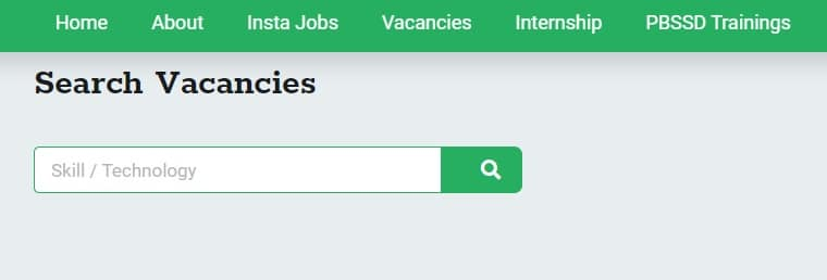 WB Karma Bhumi Portal Find Vacancy Page