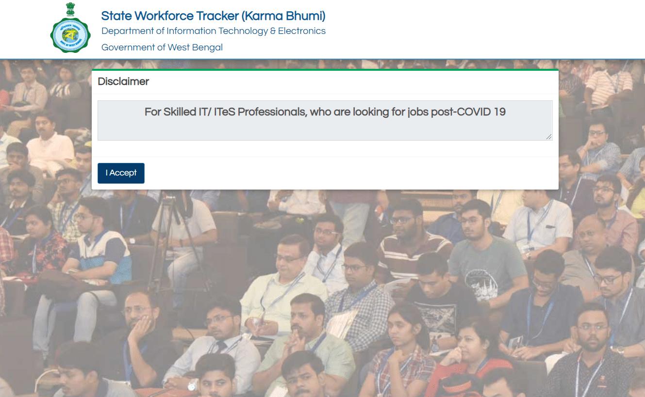 WB Karmo Bhumi Portal Registration Application