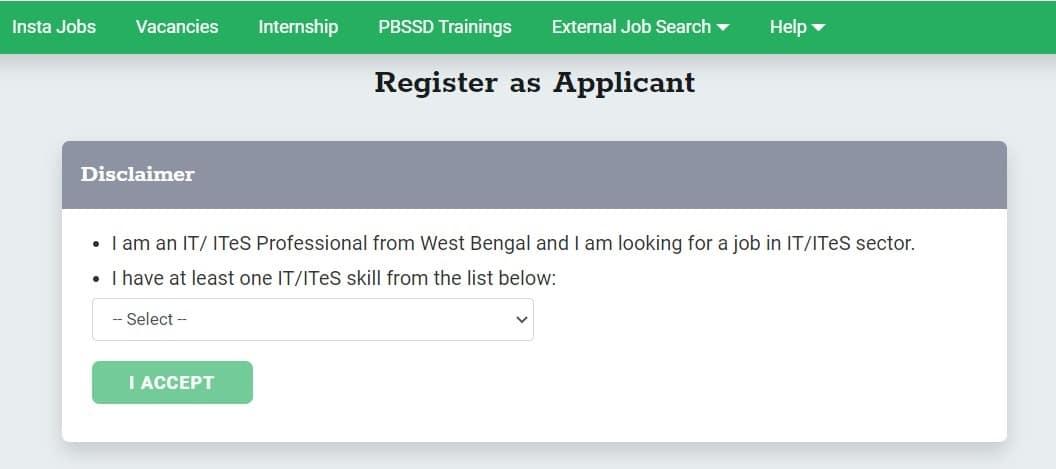 West Bengal Karmabhumi Portal Registration