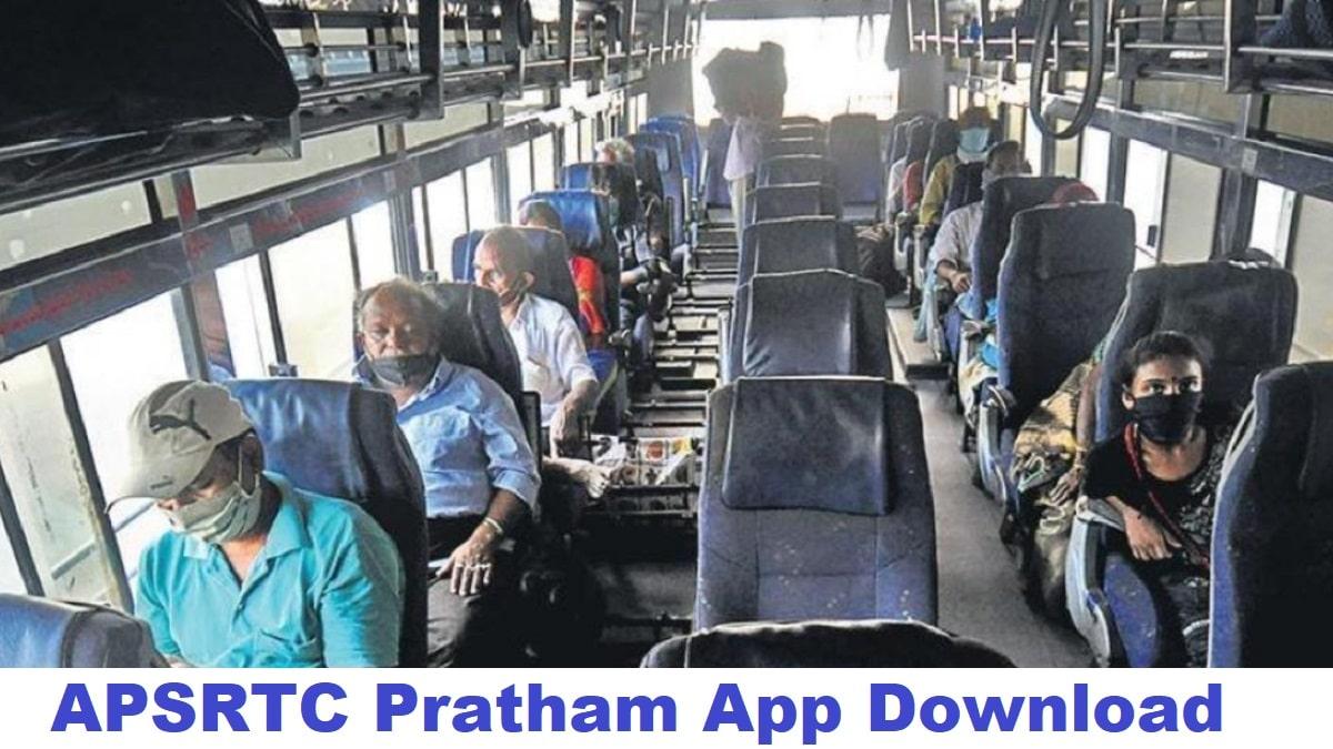 APSRTC Pratham App Book Bus Tickets Online