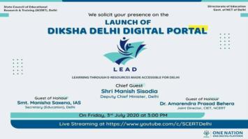 Diksha Delhi Digital Portal LEAD