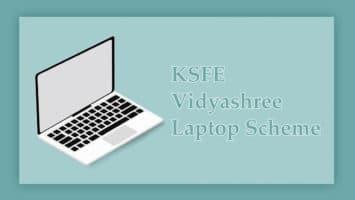 KSFE Vidyashree Laptop Scheme