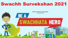 Swachh Survekshan 2021 – Ranking of States / Prerak Daaur Samman / Complete Details