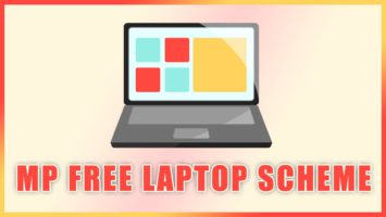 MP Free Laptop Scheme