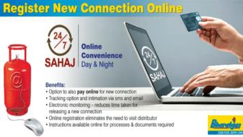 New Bharat Gas Connection Online Registration