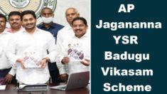 AP Jagananna YSR Badugu Vikasam Scheme 2021 to Help SC / ST Entrepreneurs