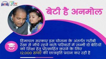 Beti Hai Anmol Yojna Himachal Pradesh