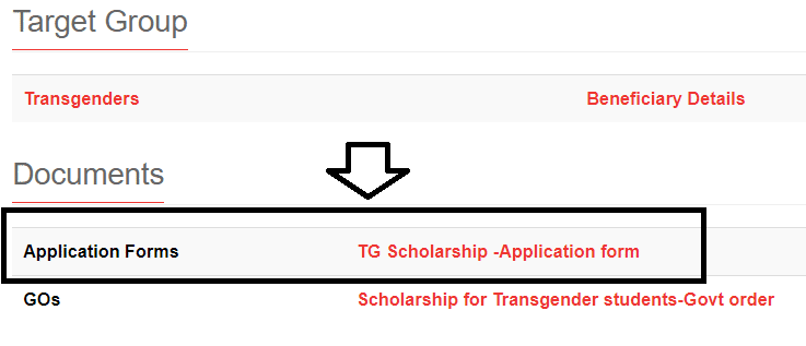 kerala tg scholarship scheme application link transgender students