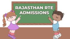 [Apply] RTE Rajasthan Admission 2021-22 Online Registration / Application Form at rajpsp.nic.in