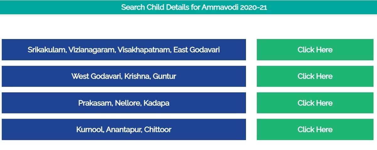 AP Amma Vodi Eligible Children List District Wise