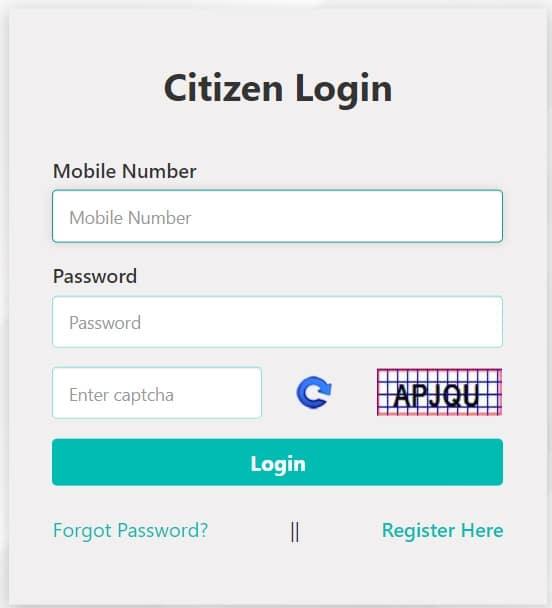 Citizen Login Telangana Non Agricultural Property Registration