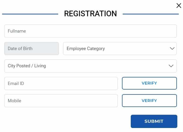 E-Sampada Portal Online Registration Form
