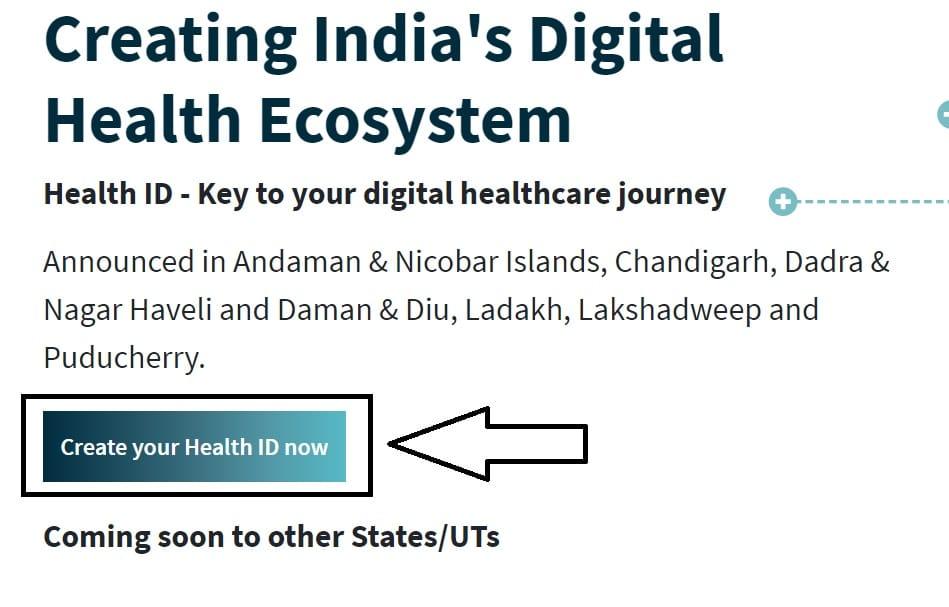 Health ID Apply Online NDHM Gov
