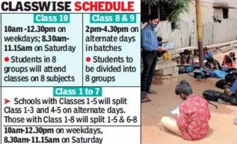 Karnataka Vidyagama Programme Timetable