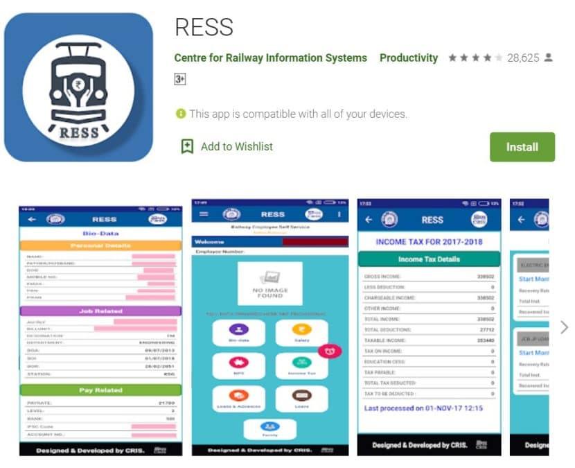 RESS App Download Google Playstore