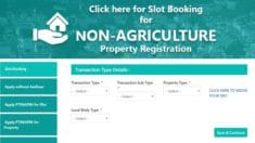 Telangana Non Agricultural Property Registration 2020-2021 – Online Slot Booking at registration.telangana.gov.in