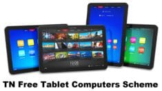 Tamil Nadu Free Tablet Computers Scheme 2020-2021 for Class 6th to 8th Govt. School Students