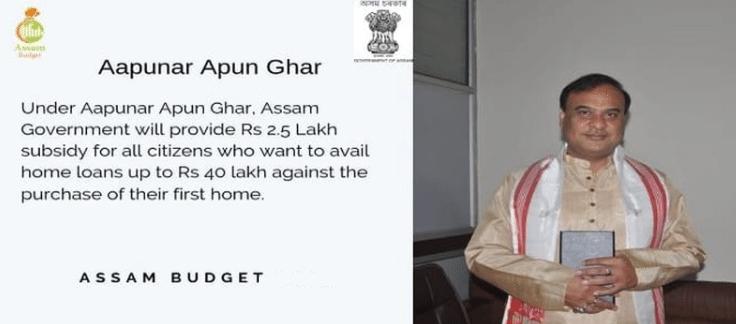 Aapunar Apun Ghar Scheme