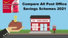 Compare All Post Office Schemes 2020-2021 – NSC, PPF, KVP, SSY, RD, TD, SCSS, MIS