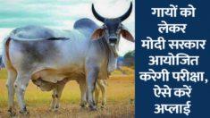 Apply Online for Gau Vigyan Pariksha (Cow Science Exam) 2020-2021 at Rashtriya Kamdhenu Aayog Portal
