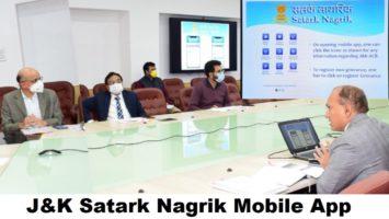 JK Satark Nagrik Mobile App