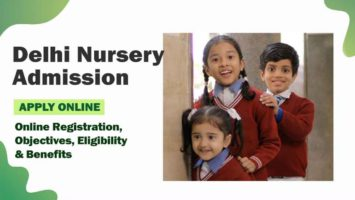 Delhi Govt School Nursery Admission Form