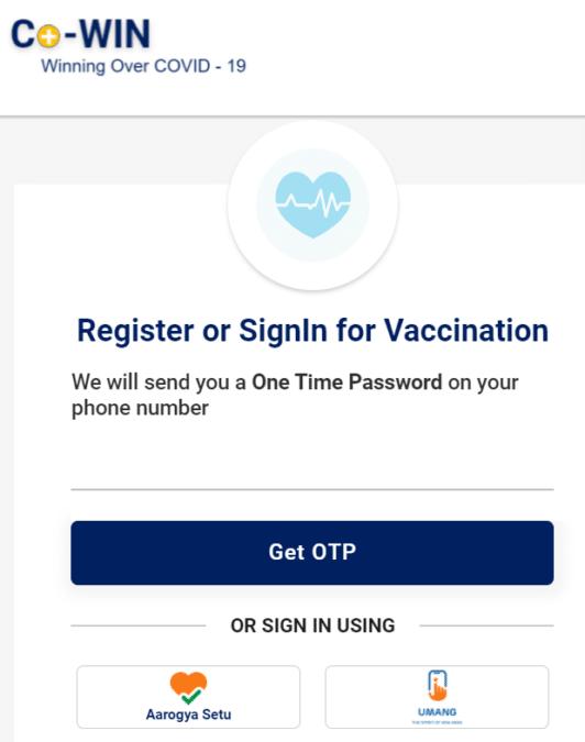 Covid Vaccine Registration 18 Cowin