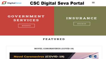 CSC Digital Seva Portal Registration Login
