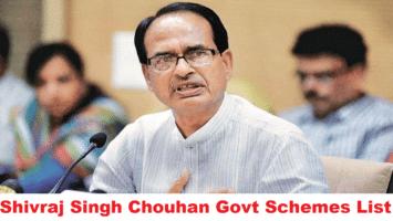 Shivraj Singh Chouhan Govt Schemes List